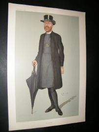 Vanity Fair Print 1904 Edward Talbot, Bishop of Rochester